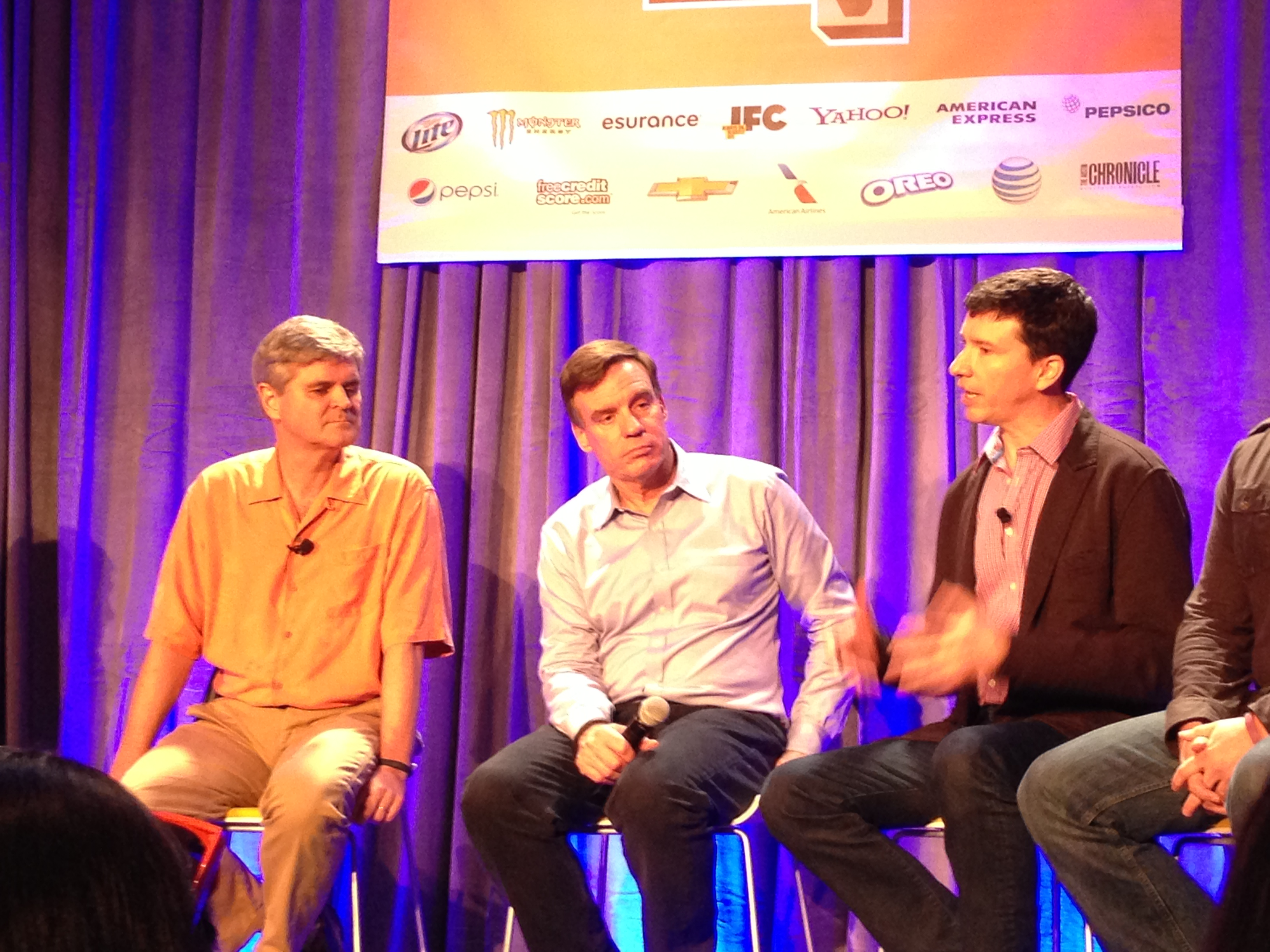 SXSW Panel with CCAs Jason Best, Senator Warner and AOLs Steve Case