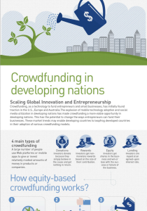 Crowdfunding in developing nations